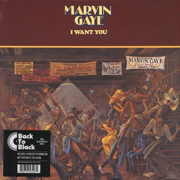 MARVIN GAYE I Want You LP