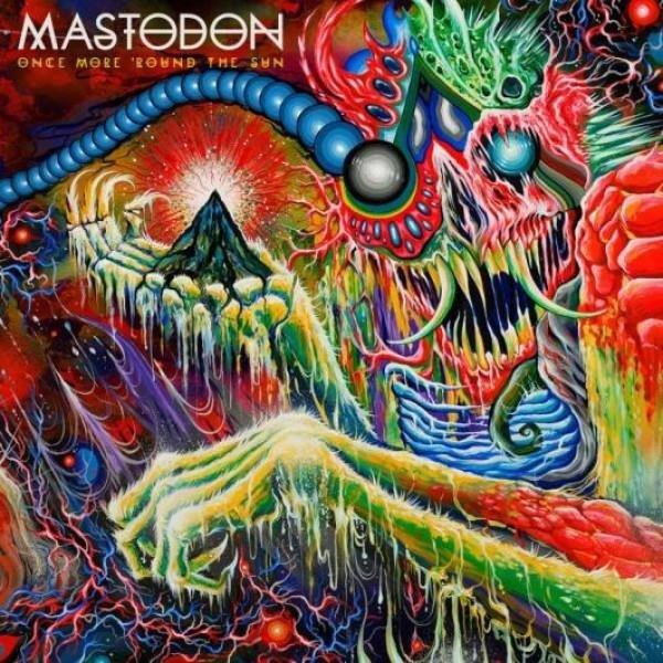 MASTODON Once More 'ROUND The Sun (COLOURED Vinyl) LP
