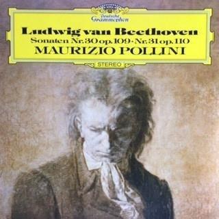 MAURIZIO POLLINI Beethoven Piano Sonatas 109 -110 LP