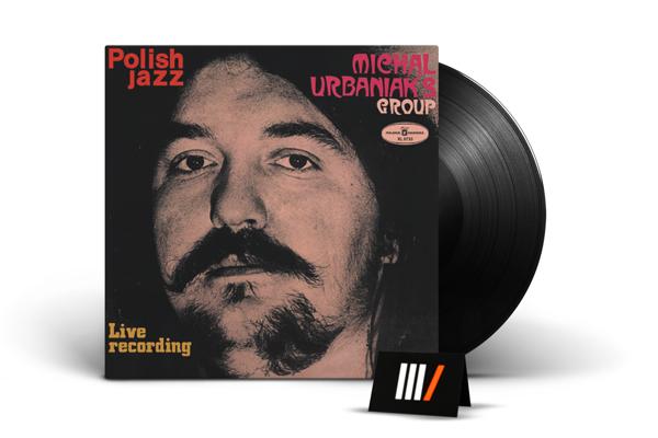 MICHAL URBANIAK'S GROUP Live Recording LP POLISH JAZZ
