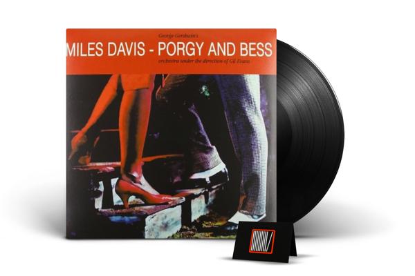 MILES DAVIS Porgy And Bess (GEORGES Gershwin) LP