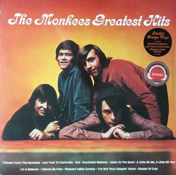 MONKEES The Monkees Greatest Hits LP