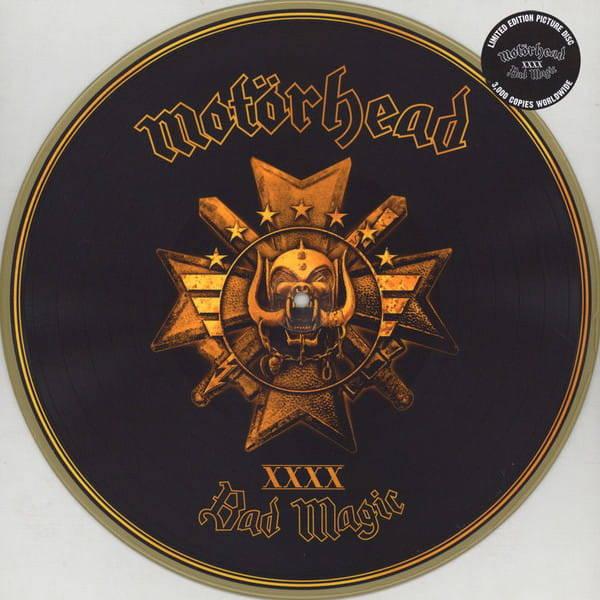 MOTORHEAD Bad Magic LP LTD GOLD COLOURED PICTURE DISC