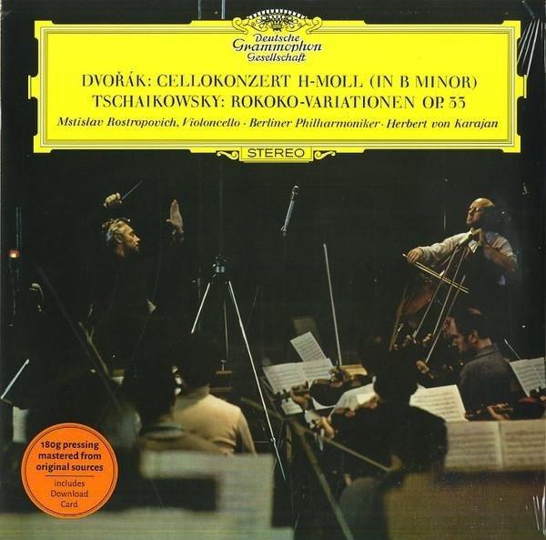 MSTISLAV ROSTROPOVICH Dvorak Cello Concerto LP