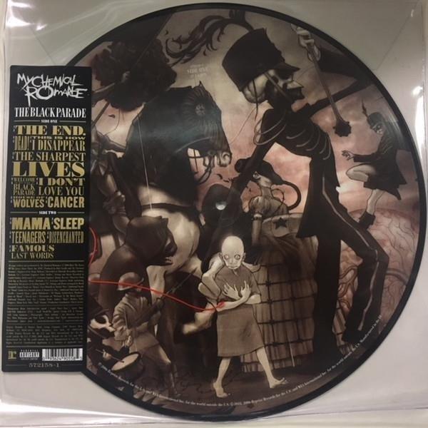 MY CHEMICAL ROMANCE The Black Parade LP