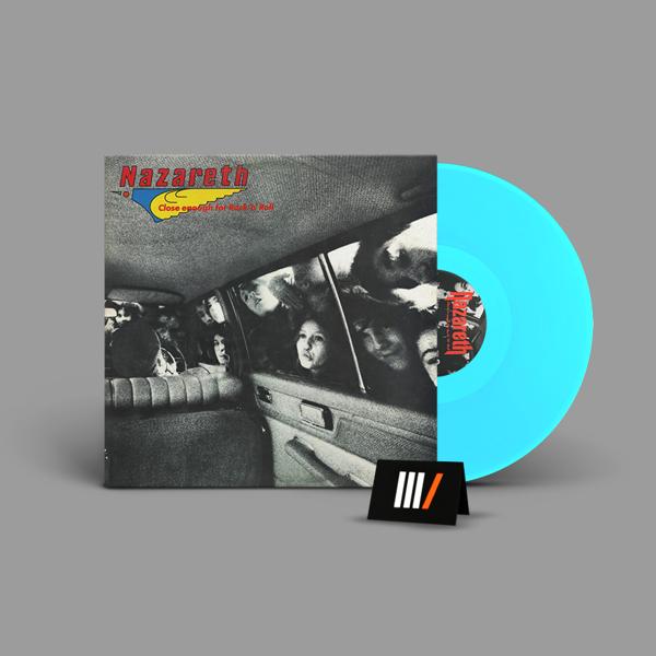 NAZARETH Close Enough For Rock 'N' Roll LP BLUE