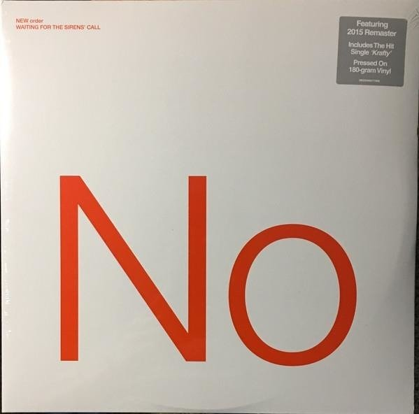 NEW ORDER Waiting For The Sirens Call 2LP