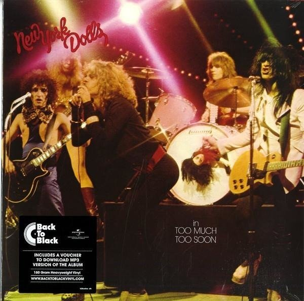 NEW YORK DOLLS Too Much To0 Soon LP