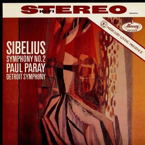 PARAY PAUL Mercury Liveing Presence: Sibelius Symph. 2 LP