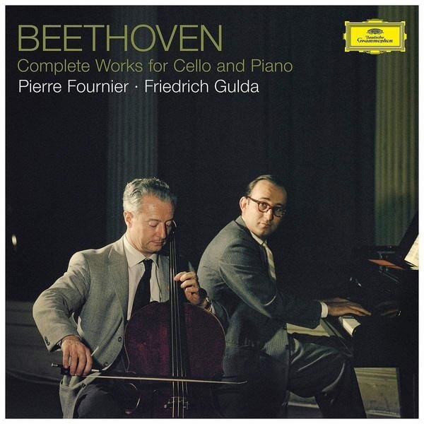 PIERRE FOURNIER Beethoven Complete Works For Cello And Piano 3LP