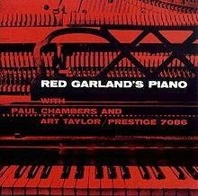 RED GARLAND Red Garland's Piano LP