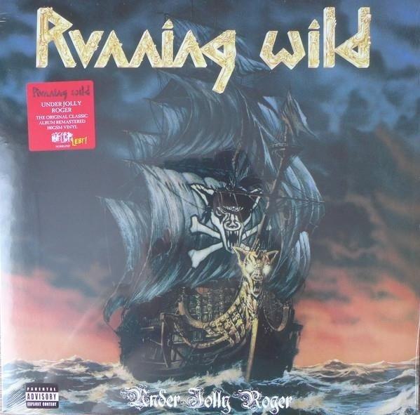 RUNNING WILD Under Jolly Roger LP