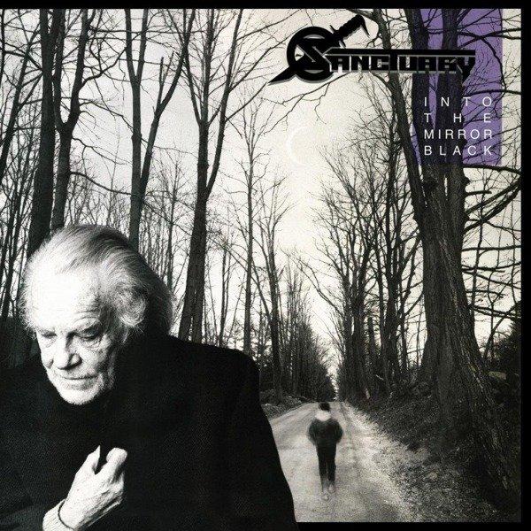 SANCTUARY Into the Mirror Black LP (Blue Vinyl)