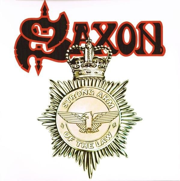 SAXON Strong Arm Of The Law LP