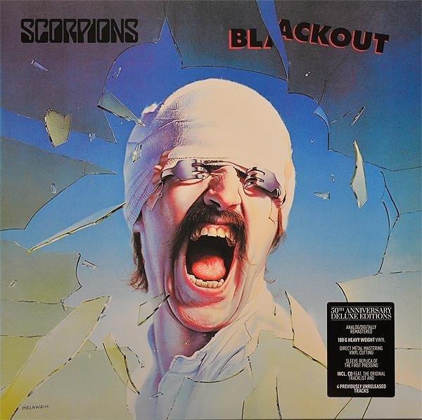 SCORPIONS Blackout LP+CD