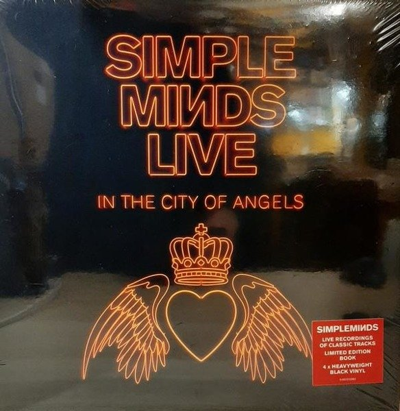 SIMPLE MINDS Live In The City Of Angels 4LP
