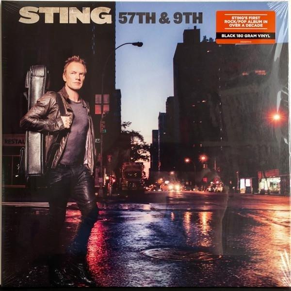STING 57th & 9th LP