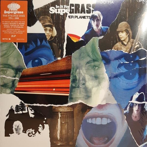 SUPERGRASS The Strange Ones: 1994-2008 2LP