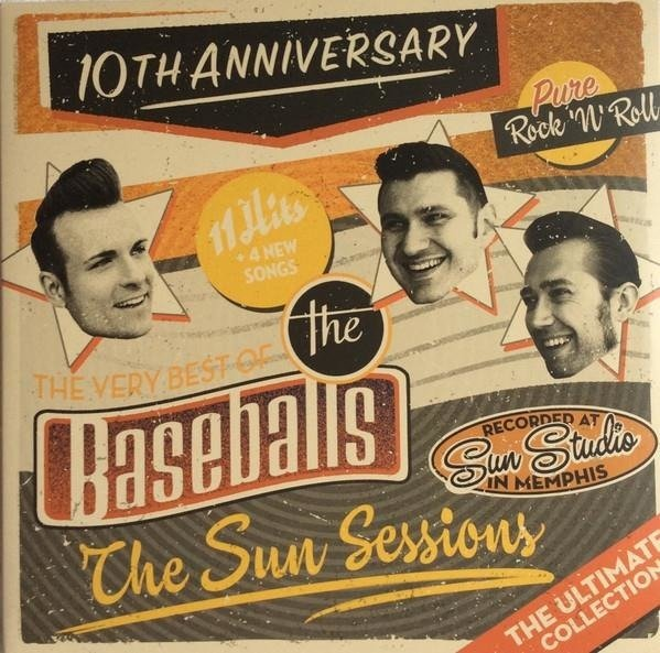 THE BASEBALLS The Sun Sessions 2LP