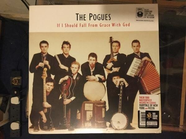 THE POGUES If I Sould Fall From Grace With God LP