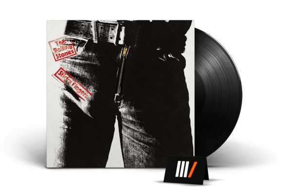 THE ROLLING STONES Sticky Fingers LP
