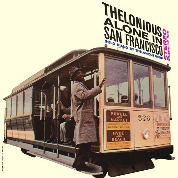 THELONIOUS MONK Thelonious Monk Alone In San Francisco LP