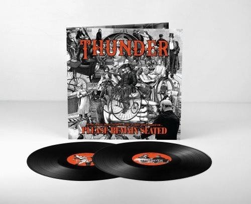 THUNDER Please Remain Seated 2LP
