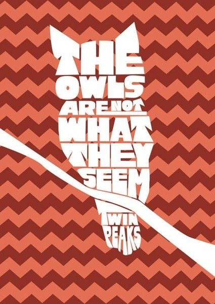 Twin Peaks - Owl PLAKAT