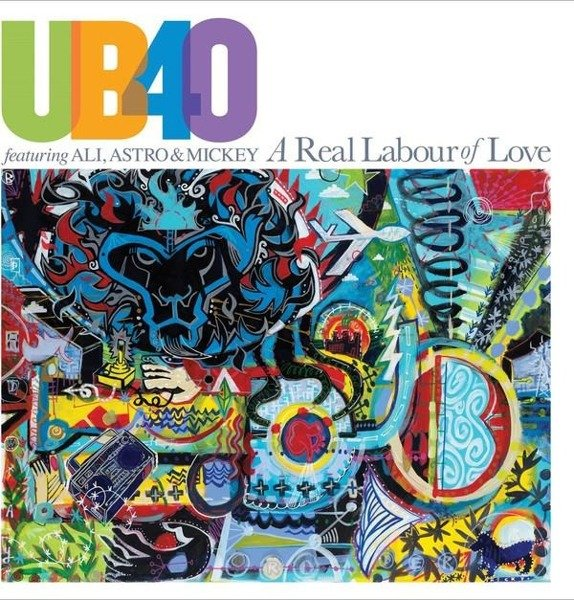 UB40 A Real Labour Of Love . 2LP