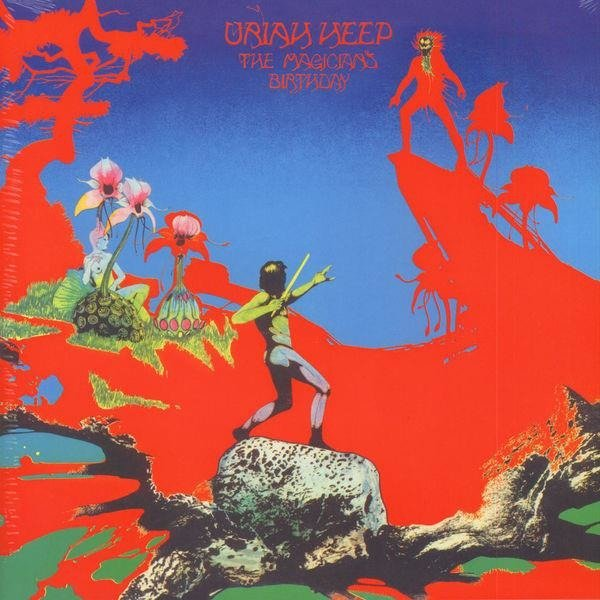 URIAH HEEP The Magician's Birthday LP
