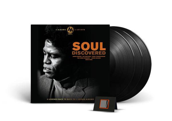 VA Soul Discovered 3LP