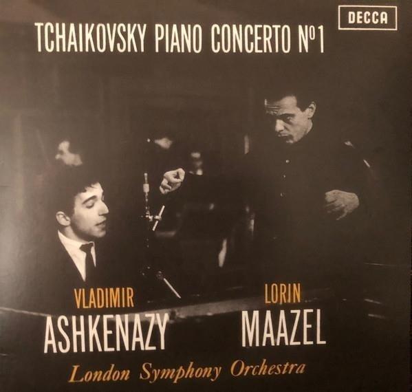 VLADIMIR ASHKENAZY Tchaikovsky Piano Concerto 1 LP