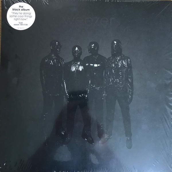 WEEZER Weezer (BLACK Album) LP
