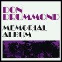 DON DRUMMOND Memorial Album LP ORANGE VINYL