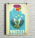 Whistler Canada - Blue Bird PLAKAT